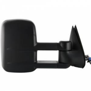 Kool Vue - SILVERADO PICKUP 03-07 MIRROR RH, Power, Heated, Telescopic Type, w/o Signal Lamp, Manual Folding