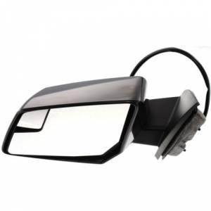 Kool Vue - TRAVERSE 09-12 MIRROR LH, Power, Heated, w/ Signal lamp, Manual Fold, Paint to Match