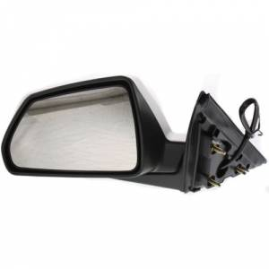 Kool Vue - 08-14 CADILLAC CTS MIRROR LH, Power, Heated, Manual Folding, w/o Memory, Smooth Black, Sedan