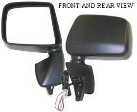 Kool Vue - 99-00 LEXUS RX300 MIRROR LH, Power, Heated, w/o Auto Dimming