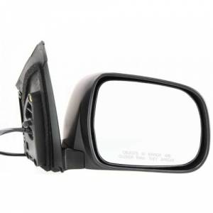 Kool Vue - RX330 04-06 / RX350 07-09 MIRROR RH, Heated, Black, w/o Memory, w/o Dimmer, Manual Folding
