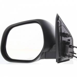 Kool Vue - 07-09 MITSUBISHI OUTLANDER MIRROR LH, Power, Non-Heated, Manual Folding, Paint to Match