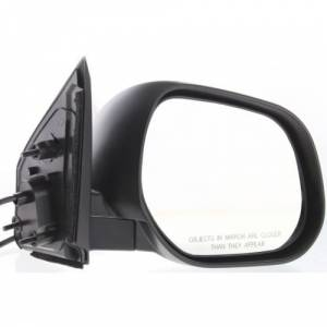 Kool Vue - 07-09 MITSUBISHI OUTLANDER MIRROR RH, Power, Non-Heated, Manual Folding, Paint to Match