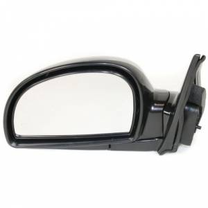 Kool Vue - 02-06 HYUNDAI ACCENT MIRROR LH, Power, Heated, Manual Folding, Paint To Match, From 11-1-01