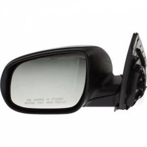 Kool Vue - 10-11 HYUNDAI ACCENT MIRROR LH, Power, Non-Heated, Manual Folding, Textured Black, Hatchback