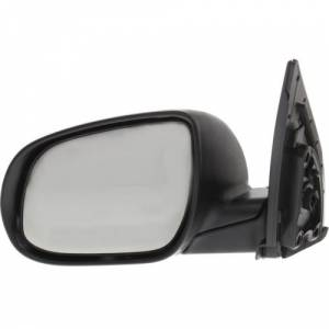 Kool Vue - 10-11 HYUNDAI ACCENT MIRROR LH, Power, Non-Heated, Manual Folding, Paint to Match, Sedan/Hatchback