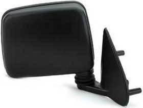 Kool Vue - 86-97 NISSAN PICKUP / 98-04 FRONTIER MIRROR RH, Manual, Black, Pedestal Mount Type