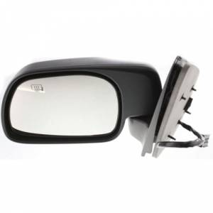 Kool Vue - 01-05 FORD EXCURSION MIRROR LH, Power, Heated, Manual Folding, w/ Puddle Lamp, w/o Signal, Textured-Black