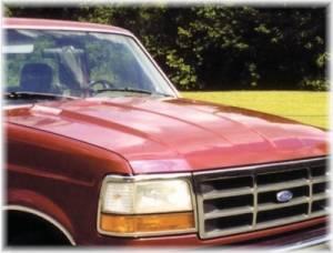 Reflexxion - 92-96 Ford Bronco Full Size Reflexxion Steel Cowl Induction Hood #704700