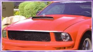 Reflexxion - 05-09 Ford Mustang Reflexxion Steel Ram Air Cowl Induction Hood #721710