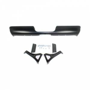 Reflexxion - 94-01 Dodge Ram Pickup Reflexxion Black/Paintable Step Bumper