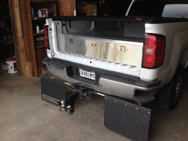Pickup Bed Tool Boxes >> Photo Gallery - Truck Bed Tool Boxes - Unique Diamond Plate Aluminum Standard 5th Wheel Box and ...