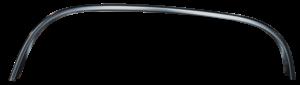 Key Parts - 88-98 CHEVY/GMC C/K Black FRONT WHEEL OPENING MOULINDG