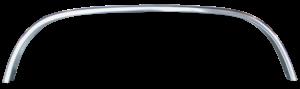 Key Parts - 88-98 CHEVY/GMC C/K C-10 Chrome REAR WHEEL OPENING MOULDING