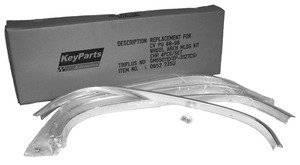 Key Parts - 88-98 CHEVY/GMC C/K WHEEL OPENING MOULDING KIT 4 PC SET