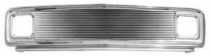 Key Parts - 69-72 CHEVY C-10 GRILLE ASSY (PTD) W/8mm BILLET W/BEZEL