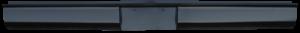 Key Parts - 73-87 Chevrolet/GMC C-10 Fleetside Bed Steel Roll Pan w/Liscense Plate Box