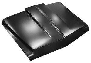 Key Parts - 67-68 CHEVY/GMC C-10 2 in. STEEL COWL INDUCTION HOOD