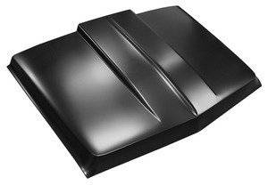 Key Parts - 69-72 CHEVY/GMC C-10 2 in. STEEL COWL INDUCTION HOOD
