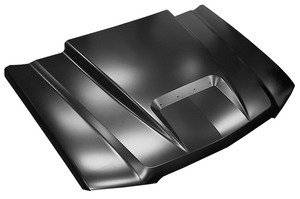Key Parts - 03-05 Chevy Silverado 1500 RAM AIR STYLE HOOD