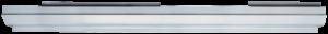 Key Parts - 96-00 Chrysler Sebring Convertible LH Drivers Side Rocker Panel