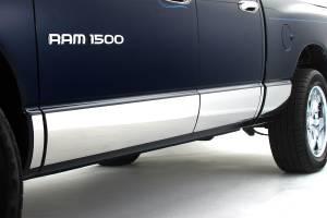 Infinite - 02-08 Dodge Ram Quad Cab Short Bed w/Factory Body Molding Infinite 7 in. Rocker Panel Trim