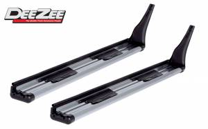 DeeZee - 99-07 Ford F-250/F350 Super Duty Extended Cab w/o fender flare DeeZee 3 in. Extruded Aluminum Running Boards