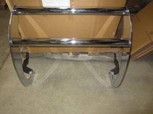 Go Ram - 97-03 Dodge Dakota/Durango Modular Chrome Go Ram Push Bar