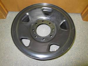 "06-10 Ford F-250, F-350 SuperDuty 17"" x 7 1/2"" 8 Lug Black Spare Rim Wheel"