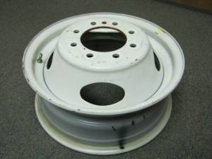 "08-15 Ford E-350 E-450 Econoline Cube Van 16"" 8 Lug White Steel Dually Wheel"