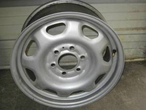 "10-13 Ford Expedition/10-13 F-150 OEM 17"" 6 Lug Silver Painted Steel Rim Wheel"