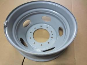 """05-15 Ford F-450 F-550 Truck 10 Lug 19.5"""" x 6 Steel Gray Dually Wheel"""