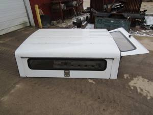 93-11 Ford Ranger White Aluminum Gem Top Jobsite Work Cap