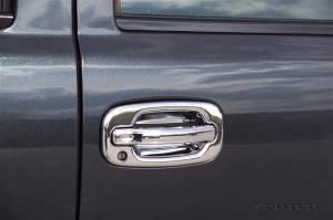 Putco - 01-06 Chevy Silverado/GMC Sierra 4-Door/02-06 Avalanche 4-Door Putco Chrome Door Handle Covers w/Passenger Keyhole