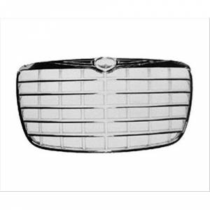 OE - 05-08 Chrysler 300/300C 5.7L/6.1L OEM Chrome Grille w/Silver Accent