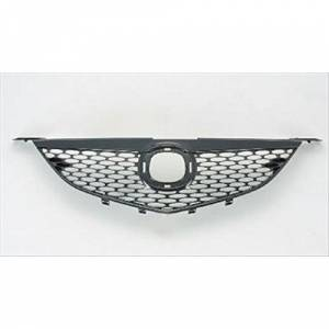 OE - 04-06 Mazda 3 OE Replacement Grille Assembly w/o Emblem