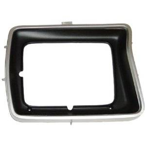 OE - 78-79 Ford F-150/F-250/F-350 Driver's Side Argent Square Headlight Bezel