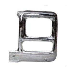 OE - 79-80 Chevy/GMC C/K Chrome Square Driver's Side Headlight Bezel