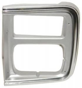 OE - 85-91 Chevy/GMC G10/G20/G30 Van Replacement Passenger's Side 2 Headlight Bezel