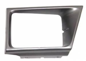 OE - 92-96 Ford Econoline Van Driver's Side Argent Headlight Bezel