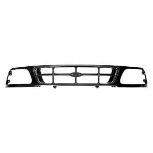 OE - 97-98 Ford F-150 Heritage 2WD Primed/Paint-to-Match Cross Bar Grille
