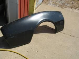 67 Pontiac Firebird Passenger's Side 3/4 Skin Quarter Panel