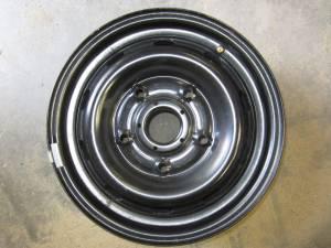 """15-16 Ford Transit 150/250/350 Van 5 Lug 16"""" Black Steel Wheels"""