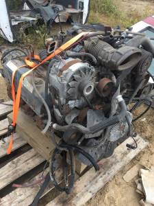 94-95 Ford E-350 Econoline Van 7.3L Engine Core Parts and Transmission