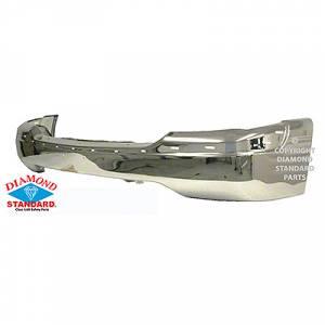 Reflexxion - 99-02 GMC SIERRA; 00-06 YUKON, YUKON XL W/O AIR HOLES; FRONT BUMPER CHROME *Includes A002BS Bracket