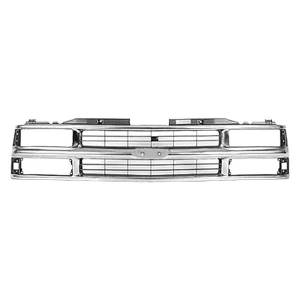 OE - 94-98 Chevy CK Truck or 92-99 Suburban Chrome Grille w/Composite Headlights