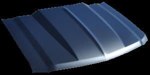 Reflexxion - 14-15 Chevy Silverado 1500 KeyParts 2 in. Steel Cowl Induction Hood #0865-035