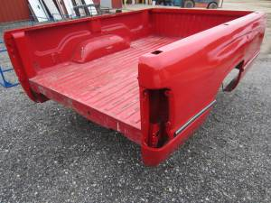 Used 94-01 Dodge Ram 1500/2500/3500 Red 8' Long Truck Bed