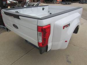 New 17-C Ford F-250/F-350 Super Duty White 8' Long Dually Bed Truck Bed
