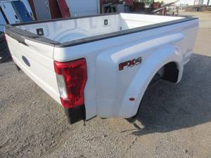 New 17-C Ford F-250/F-350 Super Duty Pearl White 8' Long Dually Bed Truck Bed